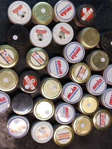 Lote De 27 Cremas Para Cuero De Colores Arola Zapateria 60cc