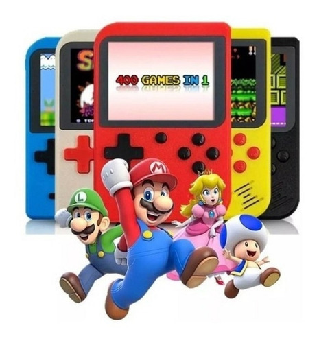 Mini Video Game Portatil 400 Jogos Tv Classico - Ax