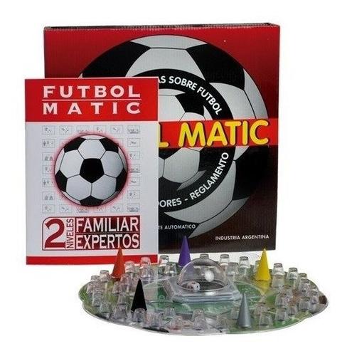 Juego De Mesa Futbol Matic Con Cubilete Jugueteria Bloque