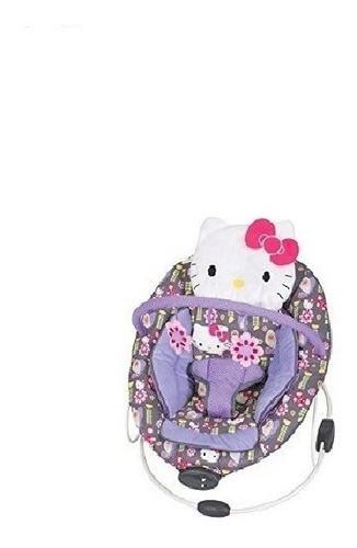 Bouncer Porta Bebe Hello Kitty Lila Envio Gratis Original