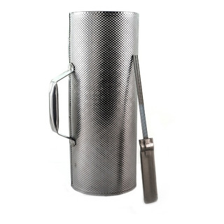 Guiro Metal Con Raspador 32x10cm - Full
