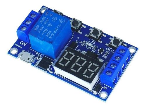 Modulo Timer Relay Temporizador De 0-999s -  Unoelectro