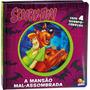 Livro Lenticular 3d Licenciados: Scooby doo A Mansão Mal