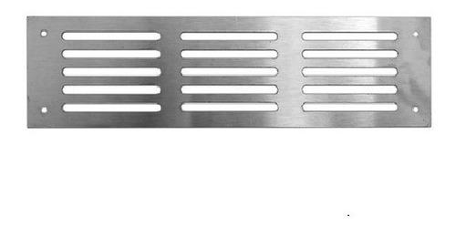 Rejillas Para Ventilación Muebles Hogar Acero Inox. 30 X 7.5