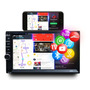 Dvd 2 Din Multimidia Bluetooth Usb Sd Tv Digital Tela 7 Hd