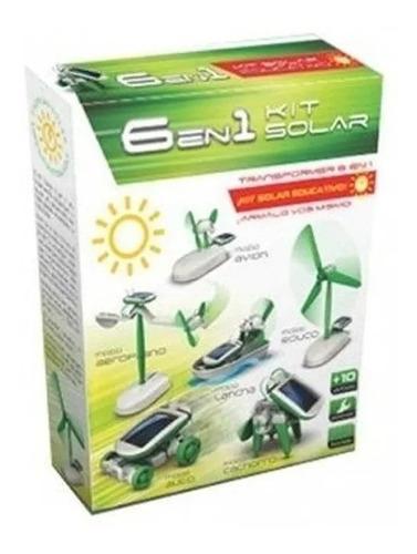 Kit Energia Solar 6 En 1 Int 1100 Ciencias Para Todos Orig