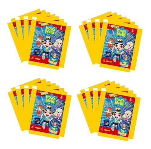 Figurinhas Luccas Neto 20 Envelopes = 80 Figurinhas 20 Cards