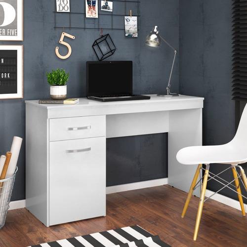 Escrivaninha Com 1 Porta 1 Gaveta Vitória Branco