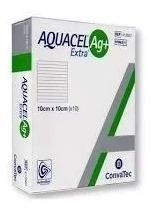 Aquacel Ag + Extra Convatec 10x10cm Cx C/10unids Original
