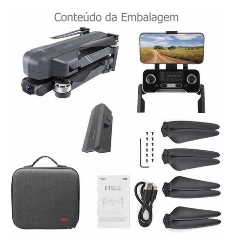 Drone Sjrc F11 4k Pro, Cam. 4k, 30min. Lançamento 2021.