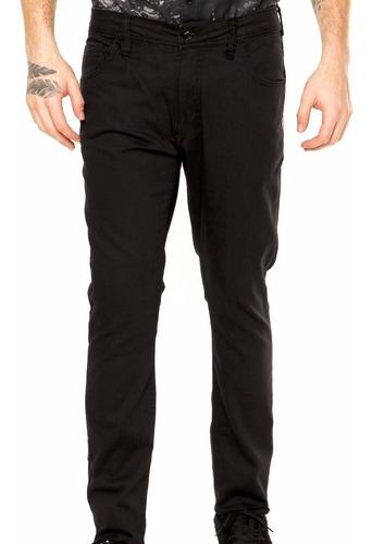 Calça Masculina Jeans Sarja Colorida Reta Plus Size Top