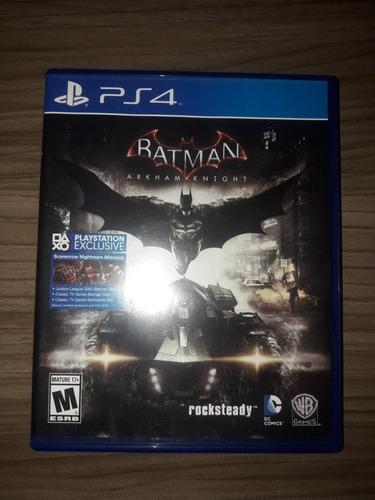 Batman Arkham Knight Ps4 Mídia Física