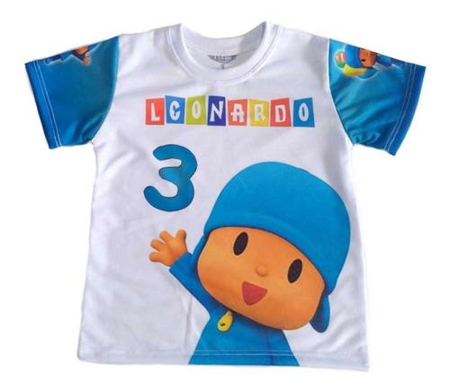Camiseta Infantil Pocoyo Personalizada