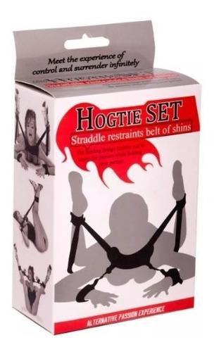 Hogtie Set (esposas Para Manos Y Pies) Controla A Tu Pareja.