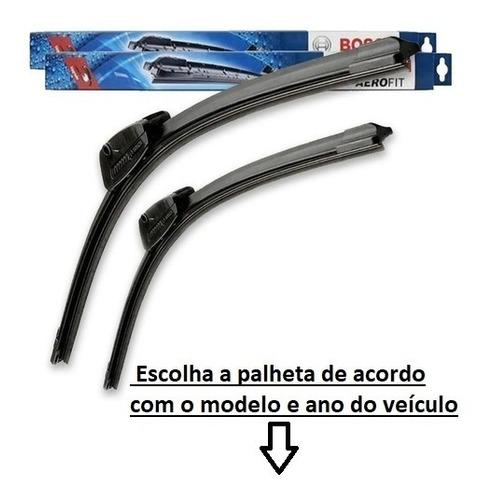 Par Limpador Parabrisa Palheta Paleta Original Bosch Aerofit