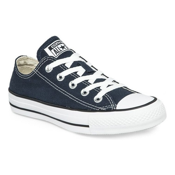 Zapatillas Converse All Star Azul Blanco! 100% Original