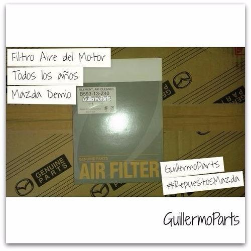 Filtro Aire Motor Mazda Demio Nuevo Original Mazda