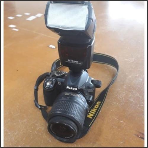 Nikon D3100 Dslr Cor Preto flash Speedlight Sb700