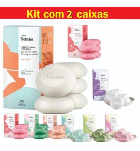 Kit Sabonete Em Barra Todo Dia Natura Original
