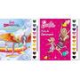 Kit 2 Livros Pincel Aquarela Guache Barbie Rainbow Rub
