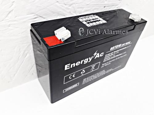 Bateria: 6v10ah Carro Bmw X6 Branca Rc El 6v - Bandeirante
