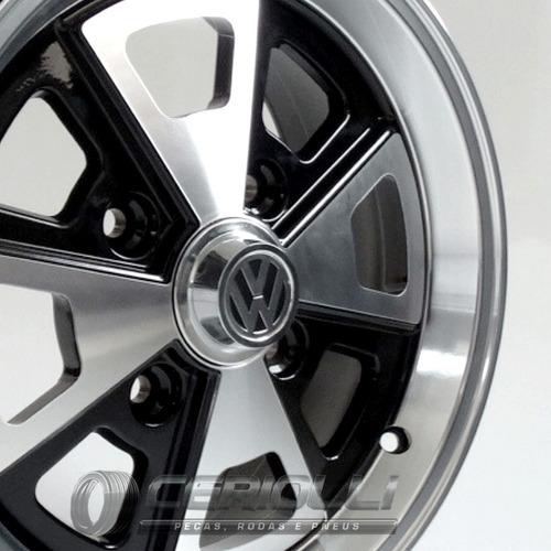 Calota Central Roda Kr R84 Fusca Porsche