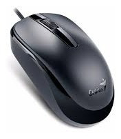 Mouse Genius Dx-120 Óptico Usb Negro