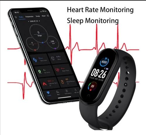 Pulsera Inteligente Bluetooth M5, Reloj Deportivo, Podómetr