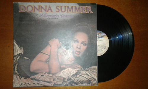 Disco Vinilo Donna Summer I Remember Yesterday