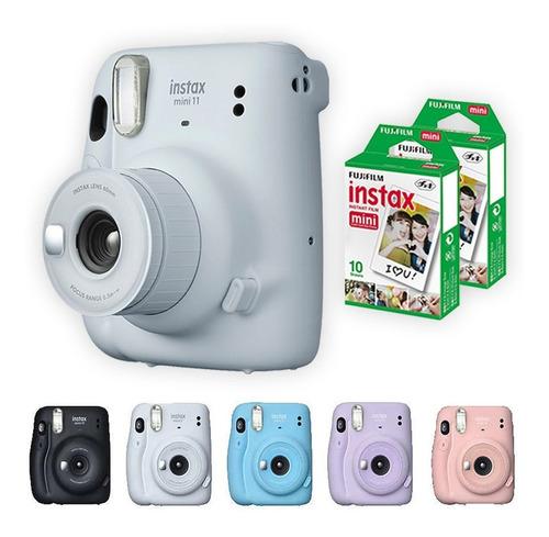 Camera Instax Mini 11 Com 20 Filmes Polaroid Fujifilm Brinde