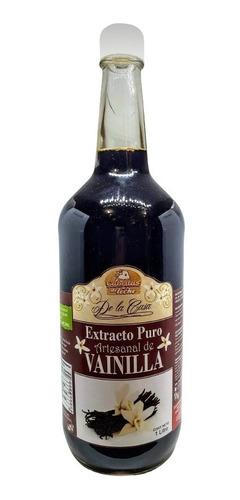 Extracto De Vainilla Natural 1 Lt. Gourmet Reposteria