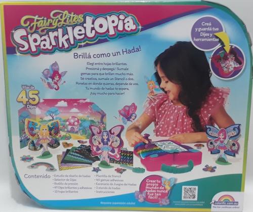 Sparkletopia Fairy Lites Estudio De Diseño De Hadas Original