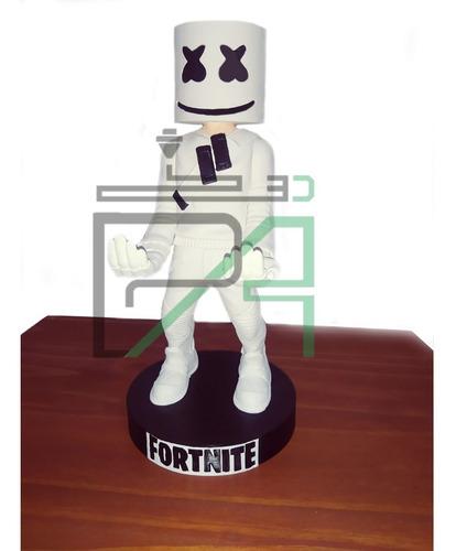Soporte Marshmello Fornite - Joystick Y Celular Ps4 Xbox