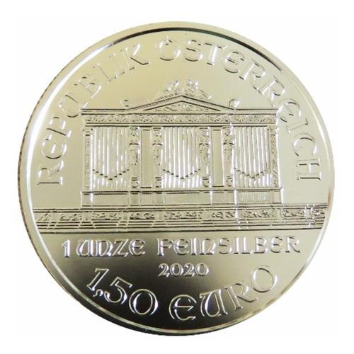 Moneda De Plata 1 Onza Ley 999 Filarmónica De Viena