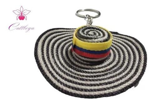 Llavero Típico Colombia Sombrero Vueltiao