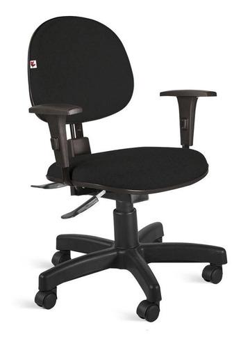 Cadeira Escritório Giratória Executiva Nr 17 Braço Regulavel