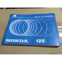 Manual Em Branco Moto Honda Cg 125 E 125 Ml Original