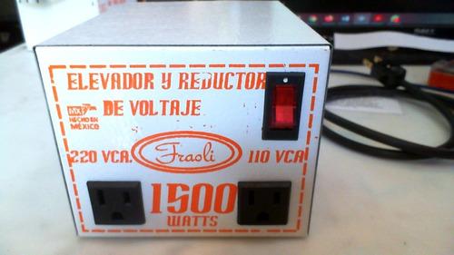 Transformador Voltaje 110 V 220v 1500w Rms Fraoli  Sencillo