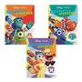 Coleção Livros Matemática Divertida Disney Pixar 4 Operações