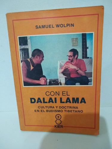 Libro Con El Dalai Lama Samuel Wolpin Año 1990