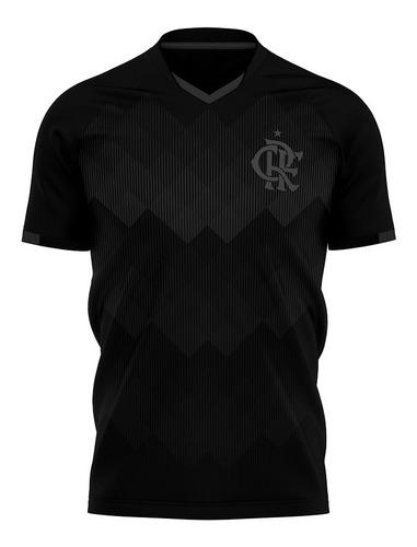 Camisa Flamengo Black Casual Licenciada 2021