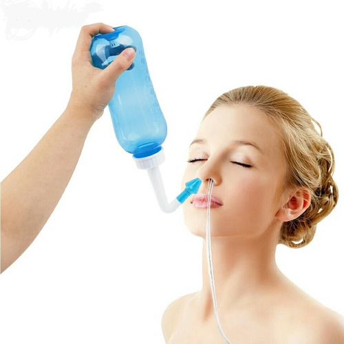 Lavador Higienizador Nasal Rinite Alérgica Sinusite 2 Bicos