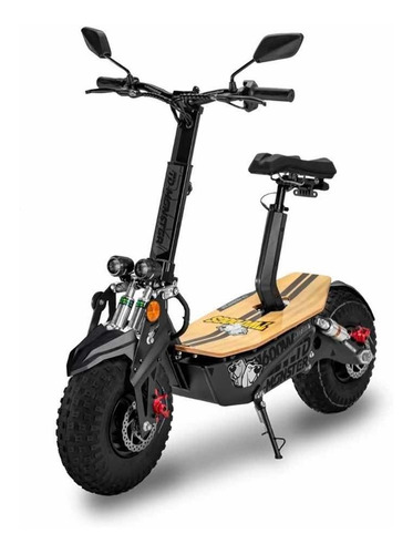 Patinete Elétrico Off-road Td Monster 1600w Preto - Two Dogs