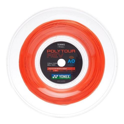 Corda De Tenis Yonex Poly Tour Rev 1.25 Laranja