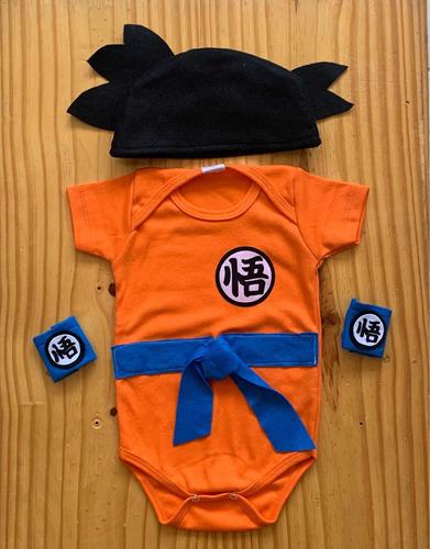 Body Dragon Ball Z Goku Fantasia Mesversário Gt Festa Héroi