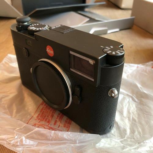 Leica M10 Digital Rangefinder Camera Preto, 3 Pilhas