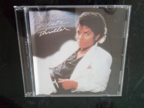 Michael Jackson Thriller Edición Espedial Cd Disponible