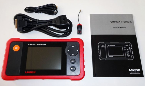 Scanner Automotriz Crp129 Premium Launch