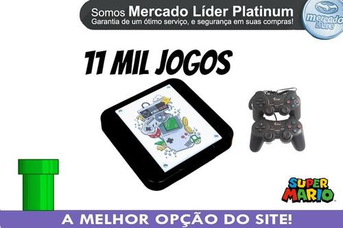 Mini Retro Super Nintendo 8 Mil Jogos Nf 2 Controles