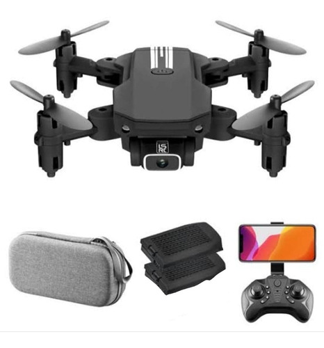 Mini Drone Selfie Ls-mini C/ Camera Wifi Fpv Pronta Entrega
